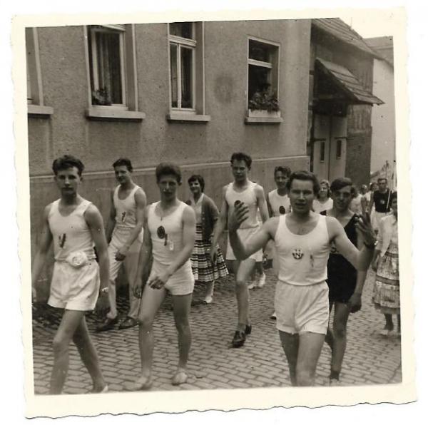 gauTurnfest badCamberg 1958--1
